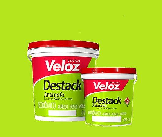 Tinta acrílico Polpa de Abacate Destack Galão com 3,6 litros - Veloz