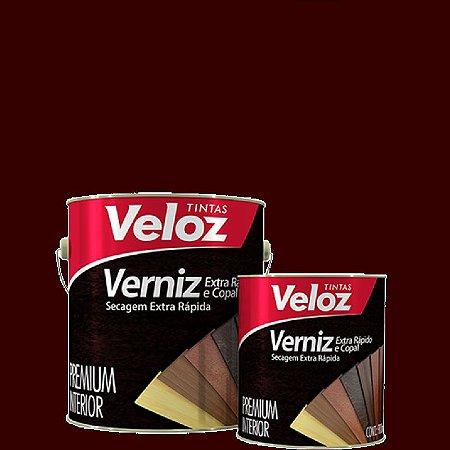 "Verniz Cedro extra rapida 1/4"" 900ml - Veloz"
