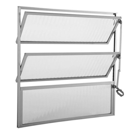 Balancim de Aluminio 60 Alt. X 80 Lar. cm - Aluvid