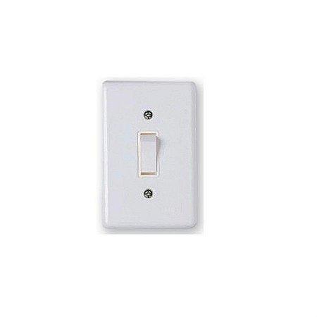 Interruptor simples 10A stylus - ilumi