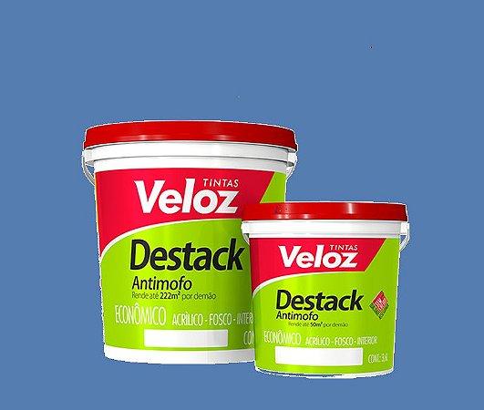 Tinta acrílico Verde Astral Destack Galão com 3,6 litros - Veloz