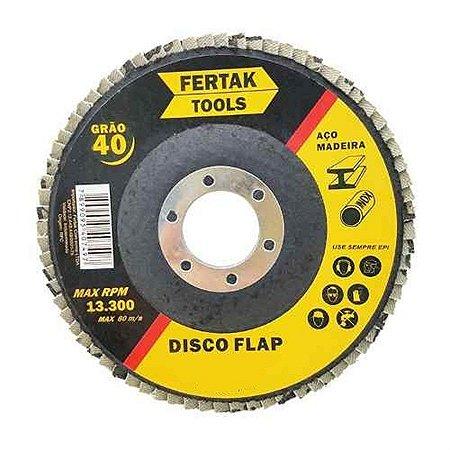Disco flap 120 4.1/2 x 115mm - fertak