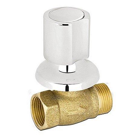 Registro de pressão com canopla - kelly metais