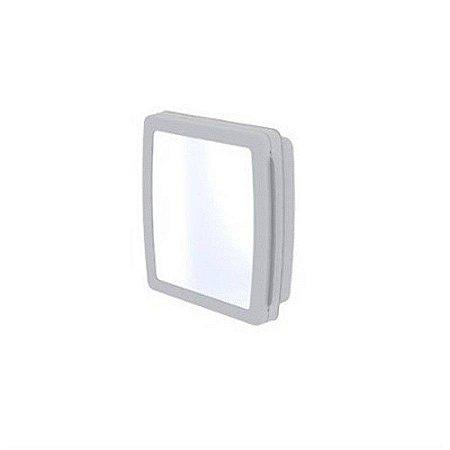 Armario para banheiro cinza cromado 34,5l - herc