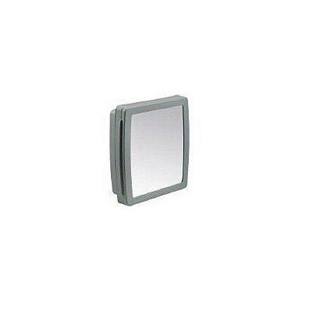 Armario para banheiro cinza escuro 34,5l - herc