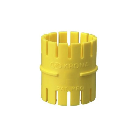 "Luva 1"" eletroduto flexivel amarelo - krona"