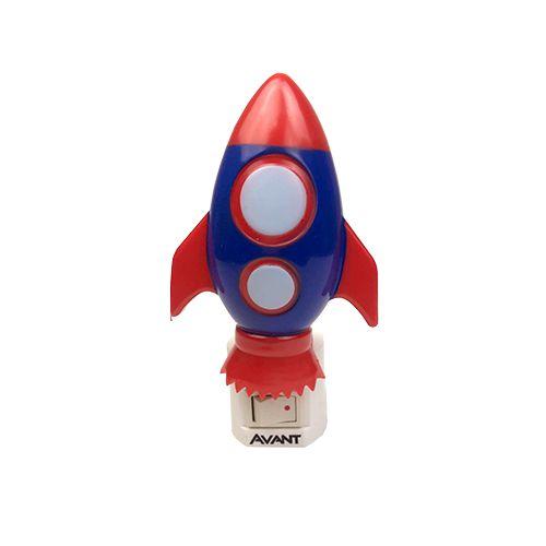 Luminária Infantil de LED Foguete 1w - Avant