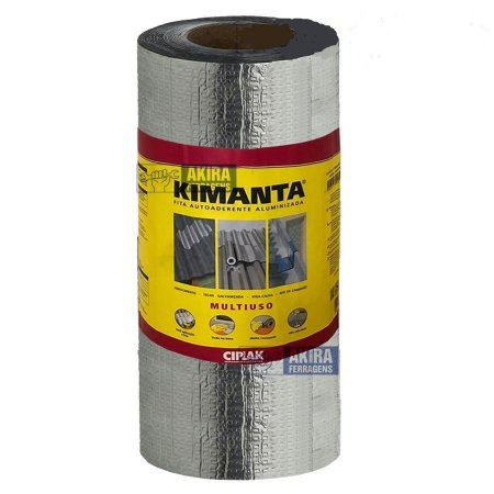 Manta 1,00 metro kimanta aluminio rolo com 10 metros - ciplak