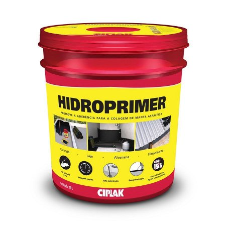 Hidroprimer balde com 18,0 litros - ciplak