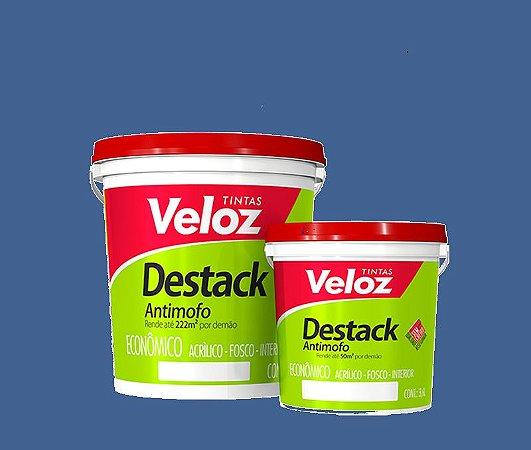 Tinta acrílico Azul Celeste Destack Galão com 3,6 litros - Veloz