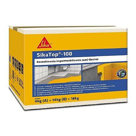 Sika top 100 caixa com 18kg - sika