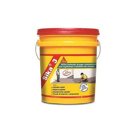 Sika 3 balde com 18 litros - sika