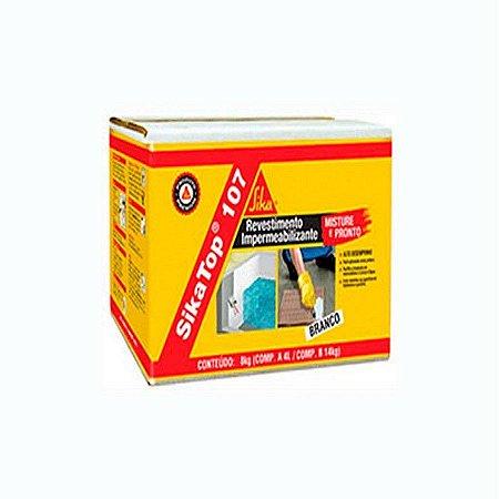 Sika top 107 branco caixa com 18kg - sika