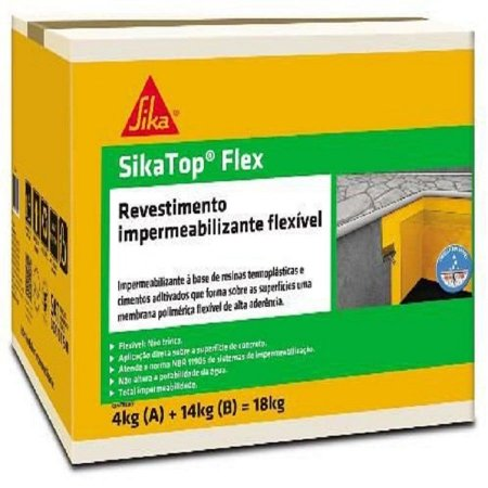 Sika top flex caixa com 18kg - sika