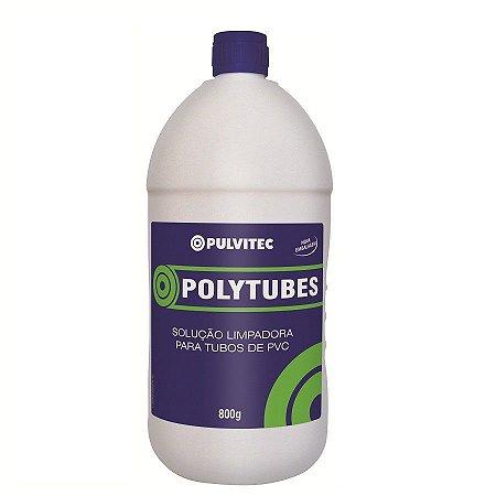 Solução limpadora polytubes para tubos de pvc - pulvitec