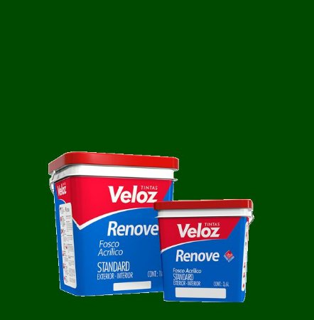 Tinta Acrílica Verde Boina Fosco Renove Galão com 3,6L Int/Ext - Veloz