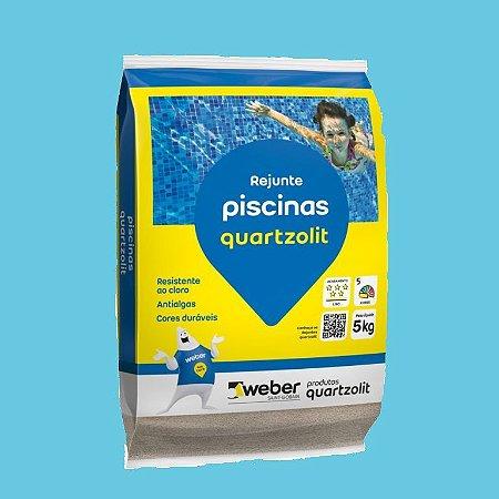 Rejunte Piscinas Azul Celeste com 5kg - Quartzolit