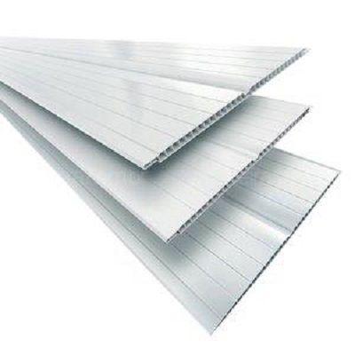 Forro PVC Branco Gelo Folha com 4,00mt x 20cm - Multilit