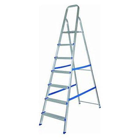 escada de Alumínio com 7 degraus - Alumasa