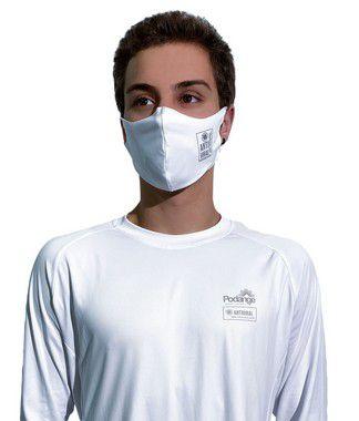 Máscara Antivirais Permanente - Anatômica, Adulta (BRANCA)