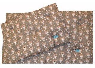 Colchonete Retangular Cachorro  0,65x0,45 Tamanho P Marrom