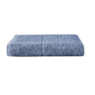 Toalha de Banho Azul Avulsa 100% Algodão Banhao Santorini