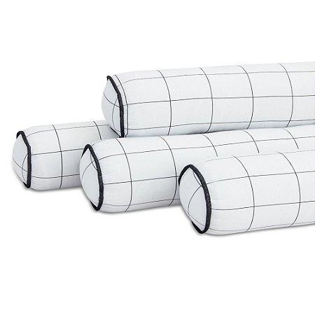 Kit 04 Rolinhos Para Mini Cama Montessoriano Grid