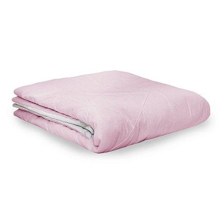 Edredom Berço/Mini Cama Moderninhos Rosa