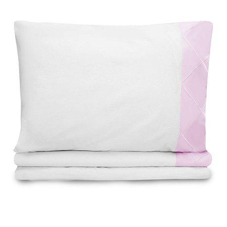 Jogo de lençol Moderninhos Solteiro 3 Peças Rosa