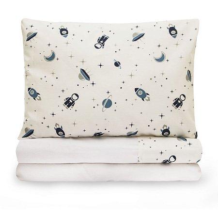 Jogo de lençol Moderninhos Montessoriano Mini Cama Space