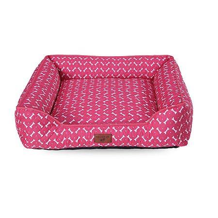 Caminha 100% Impermeavel Cachorro Gato Grande 70x70 Rosa