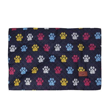 Colchonete Impermeável Caes Gatos Grande 1,00x0,60 Colorido