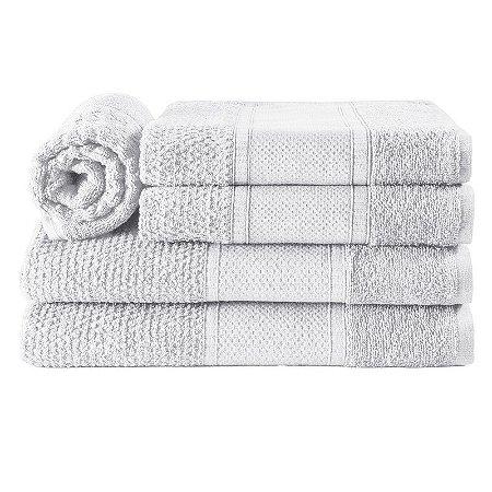 Jogos de Toalha de Banho 5 Peças Noblesse Branco