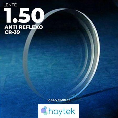 Lente CR39 com Anti Reflexo