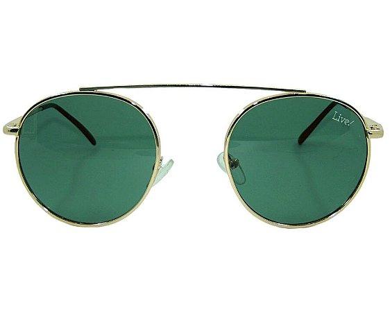 Live! Madeiro lente verde, com Proteção UV 400.