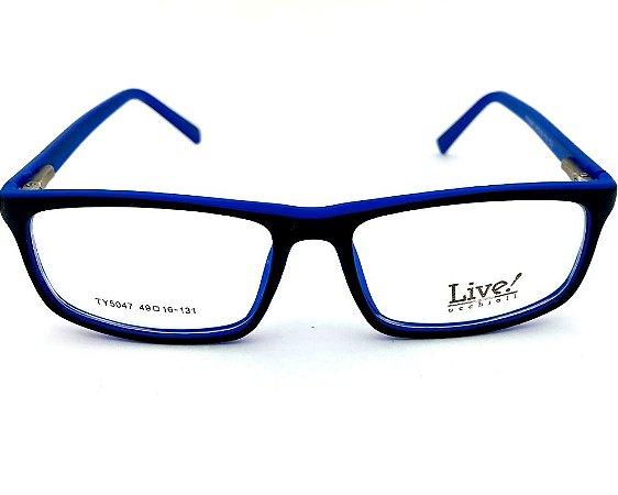 Live! Infantil de Grau Gwen Preto/Azul