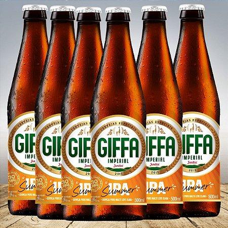 GIFFA SUMMER IPA 500 ML - 6 unid