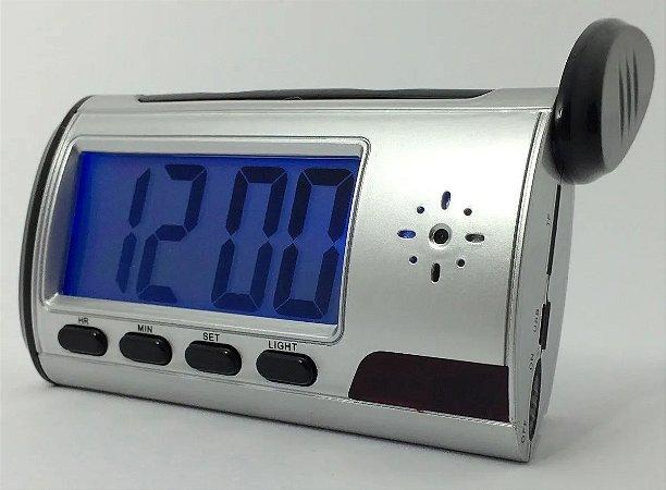 Relógio espião de mesa com defeito