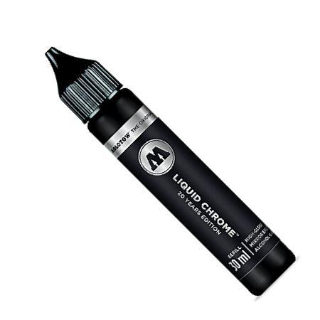 Refil para Marcador Molotow Liquid Chrome - 30ml