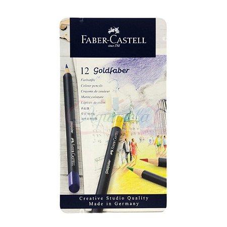 Lápis de Cor Faber-Castell GoldFaber - 12 Cores