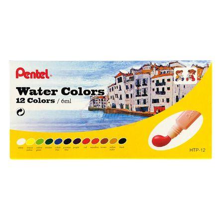 Aquarela Pentel Water Colors - 12 Cores
