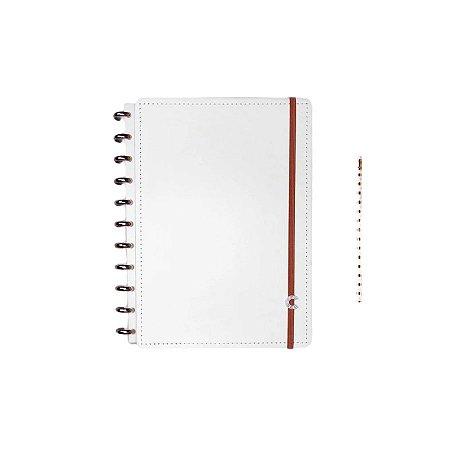 Caderno Inteligente All White - Grande