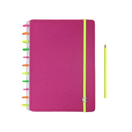 Caderno Inteligente Neon Vibes Edição Limitada - Grande