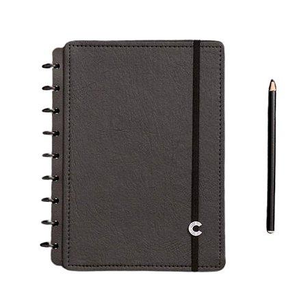 Caderno Inteligente Black Ecológico - Médio