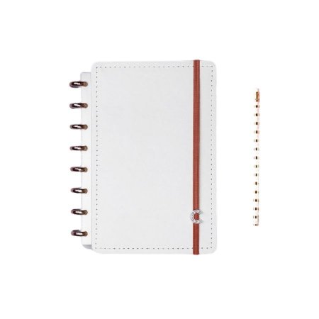 Caderno Inteligente All White - A5