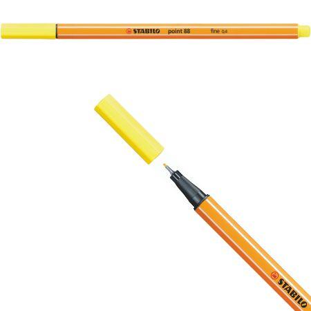 Stabilo Point 88 - Amarelo Limão 88/24