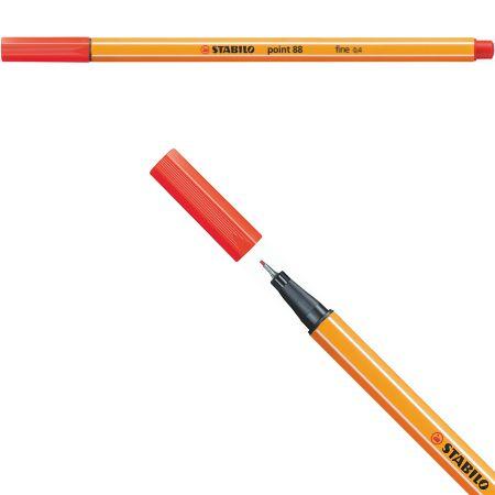 Stabilo Point 88 - Vermelho Claro 88/48