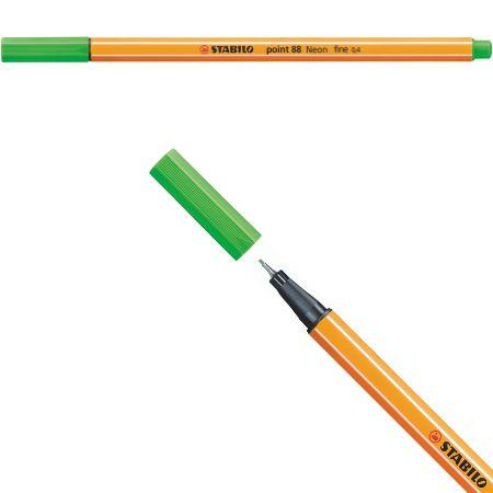 Stabilo Point 88 - Verde Maçã 88/33