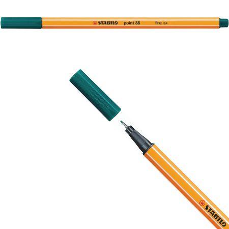 Stabilo Point 88 - Verde Escuro 88/53