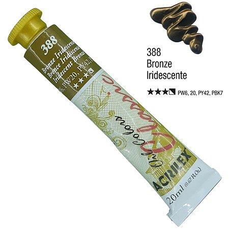Tinta a óleo Acrilex Classic 20ml - Bronze Iridescente